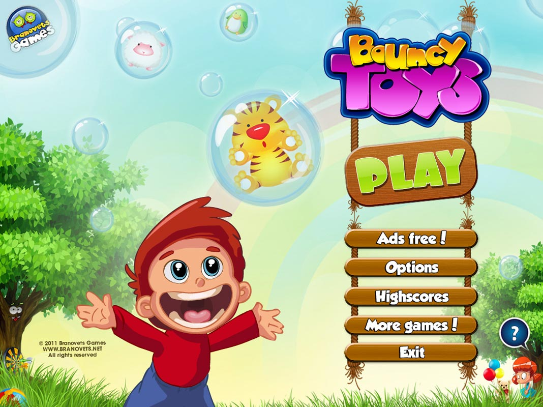 Bouncy Toys iPad